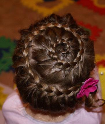 Прически для девочек косы короткие волосы