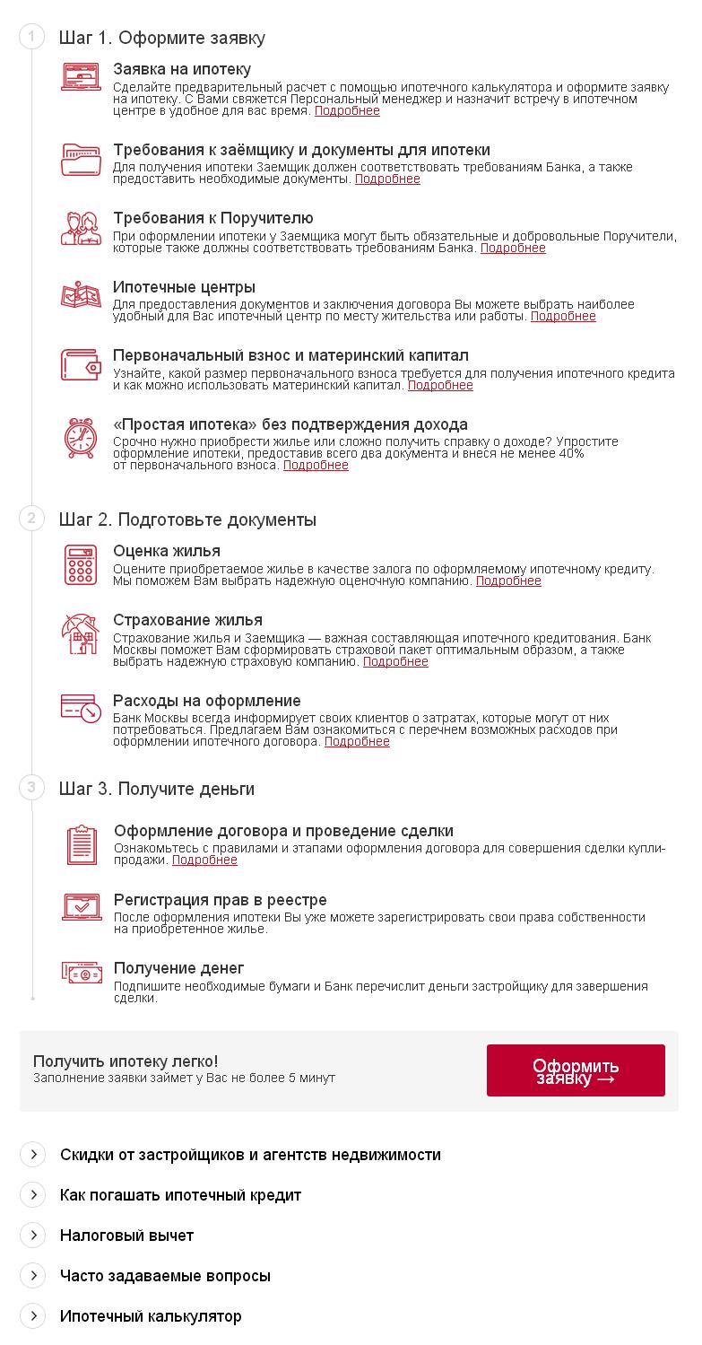 Документы для получения кредита в банке москвы трудовой договор охранника