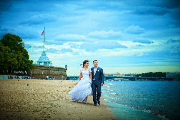 Незабываемая свадьба в Санкт-Петербурге. Фото с сайта www.pssp.ru