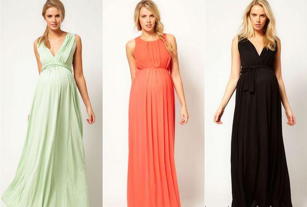 Подчеркнет все достоинства платье в стиле ампир. Фото с сайта www.baby.ru