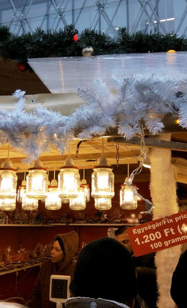 Необычные места в Будапеште, Рождественская ярмарка.