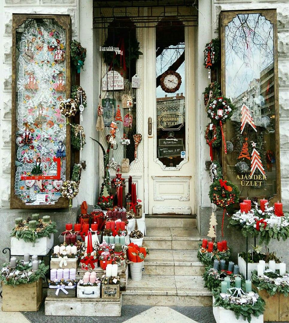 Необычные места в Будапеште в Рождество.