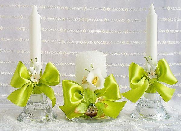 Как декорировать свечи для домашнего очага. Фото с сайта bolshe-24.ru