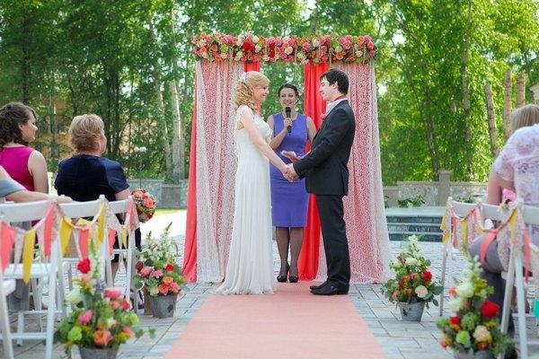 Как провести выездную церемонию бракосочетания