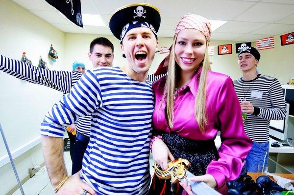 Пиратская вечеринка: можно немного пошалить. Фото с сайта  www.drive2.ru