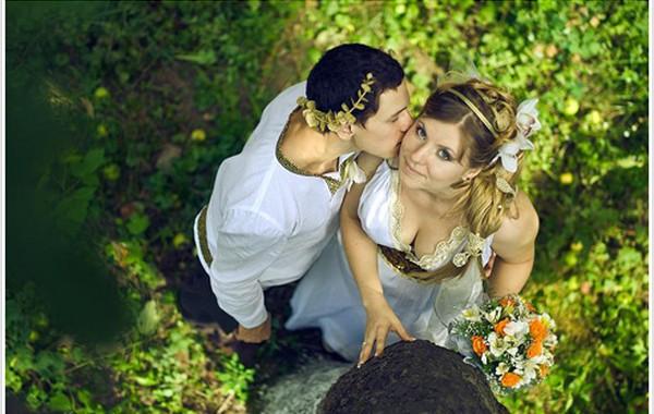 Как организовать свадьбу в греческом стиле? Фото с сайта lucky-bride.ru