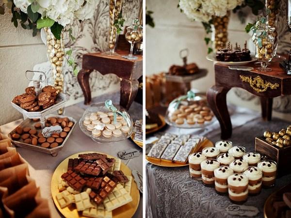 Идея оформления кэнди-бара на свадьбу. Фото с сайта nigrechokphoto.blogspot.com
