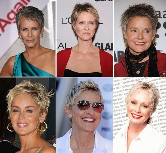 прически на короткие волосы после 50 лет