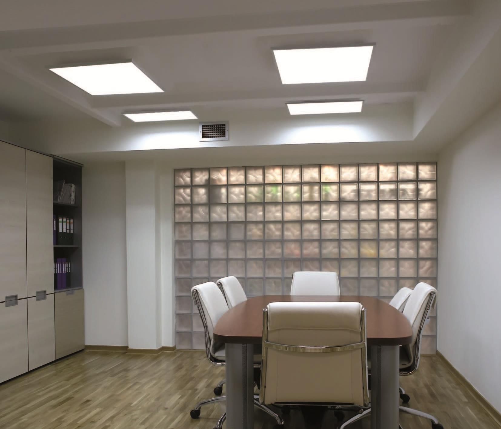 светодиодные панели для офиса можно приобрести в нашем интернет магазине
