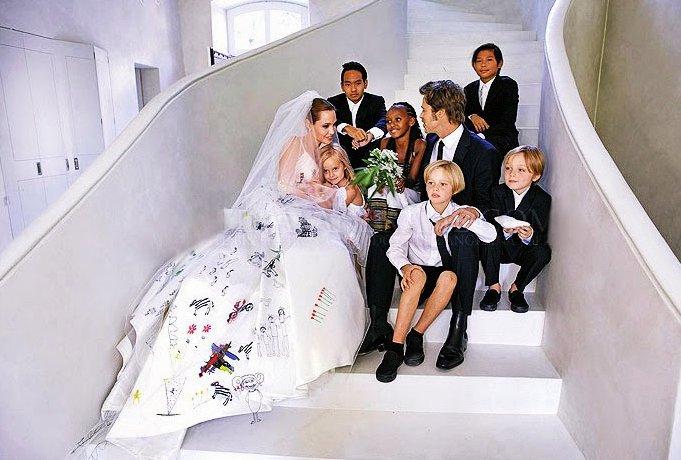 Свадьба Джоли-Питт
