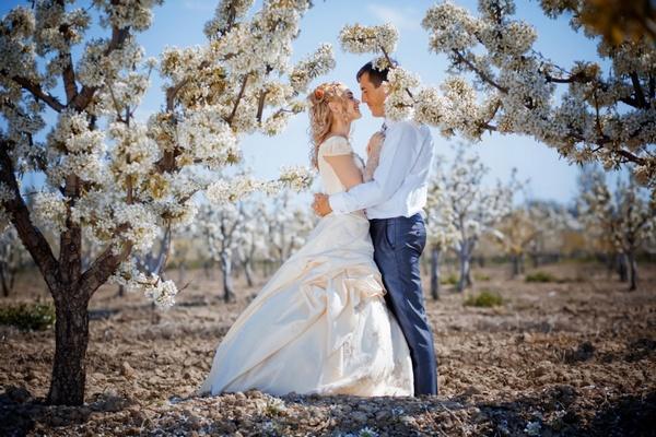Как прекрасна свадьба в мае