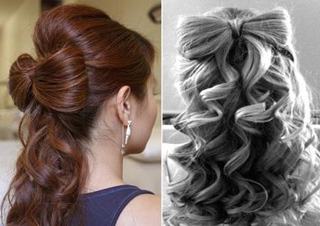 сделать прическу самой себе на средние волосы