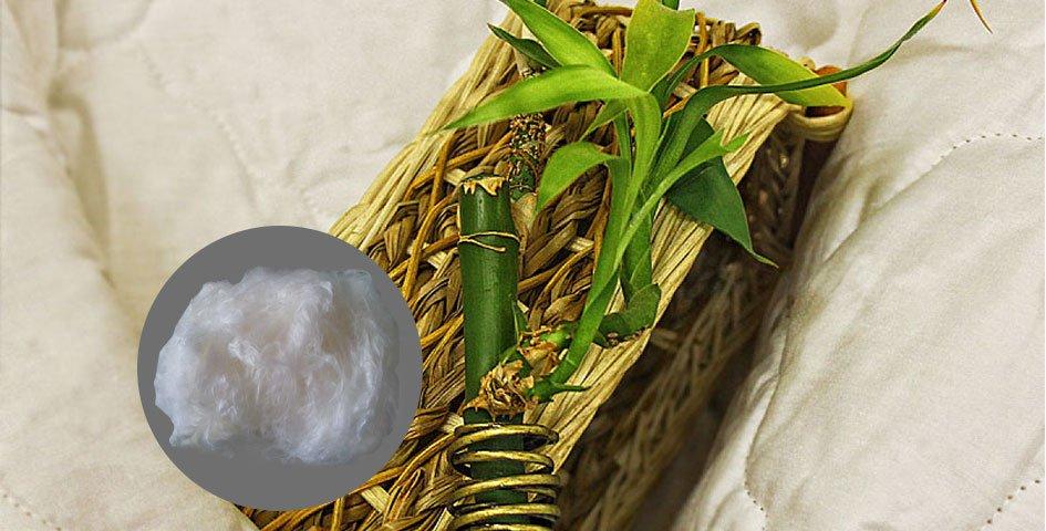 Удобство одеял из бамбука и эвкалипта