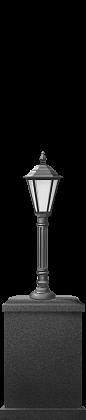 Торшер, классика, 1,45 м