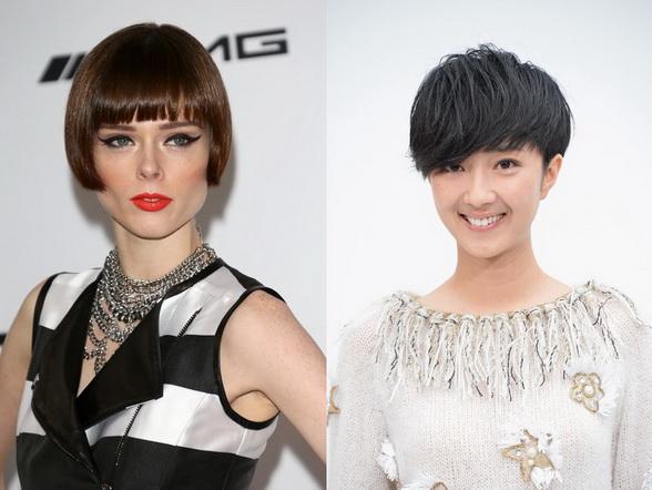 Модная женская стрижка 2017 на короткие волосы