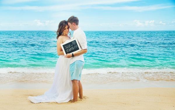 Свадьба на море — принципы организации. Фото с сайта gidnabali.ru