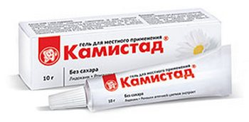 Камистад гель: инструкция. Фото с сайта www.baby.ru