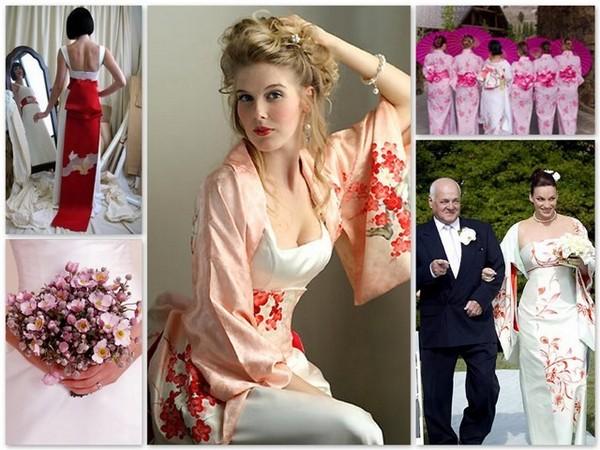 Экзотический праздник: свадьба в японском стиле. Фото с сайта nezauryadnaya.ru