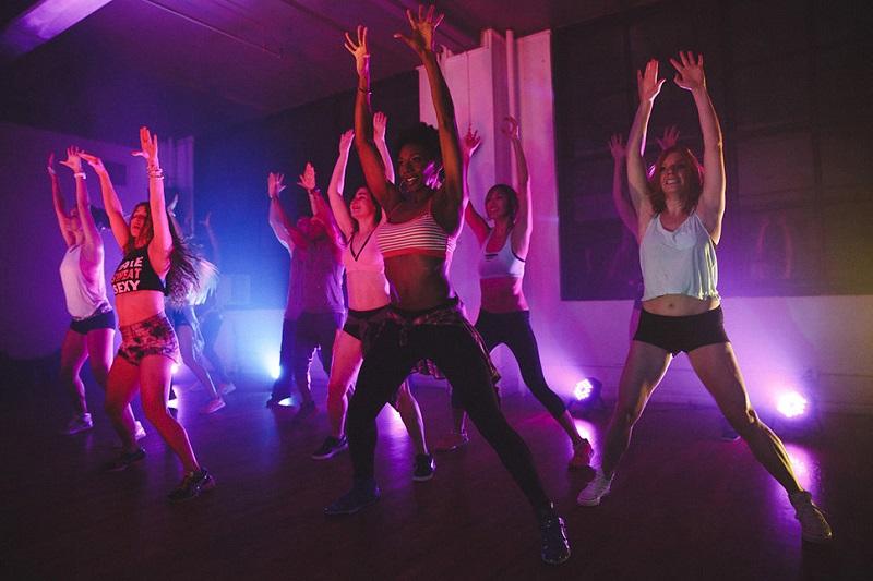 фитнес вечеринка