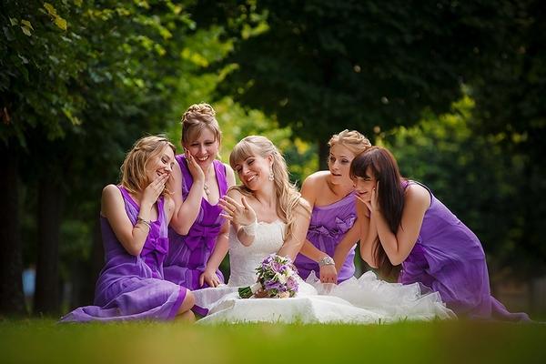 Романтика...Свадьба в сиреневом цвете. Фото с сайта www.privilegea.ru