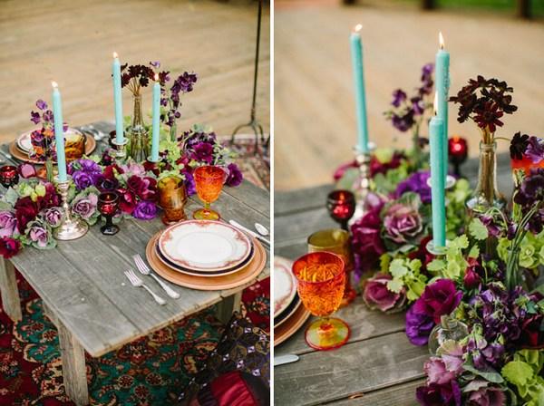 Сочетание роскоши и простоты в оформлении. Фото с сайта http://greenweddingshoes.com/
