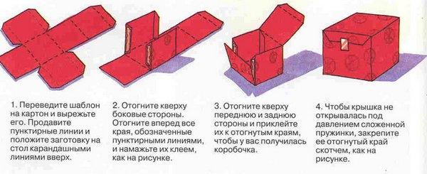 Делаем коробочку для колец по