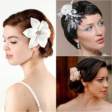 Свадебные причёски на короткие волосы: фото и секреты создания роскошного образа