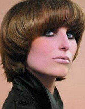 Прическа сессон на короткие волосы