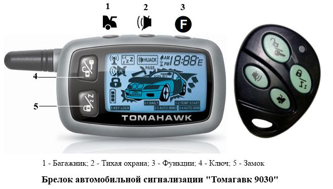 Томагавк 9030 заводские настройки